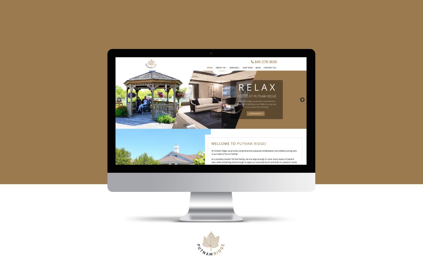 Putnam Ridge Website Homepage